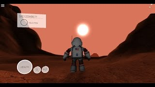 ROBLOX: Mars: The Game Ep 1