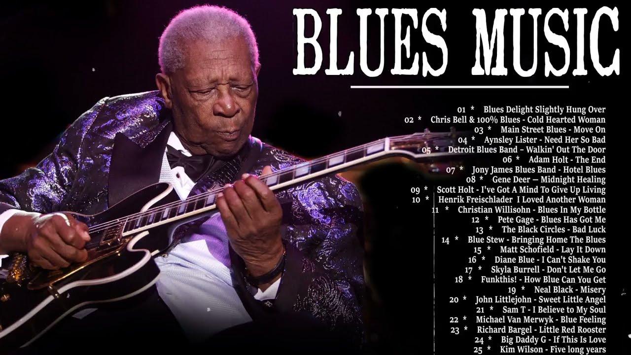 Best Blues Music - Best Of Slow Blues Songs - Relaxing Jazz Guitar Blues