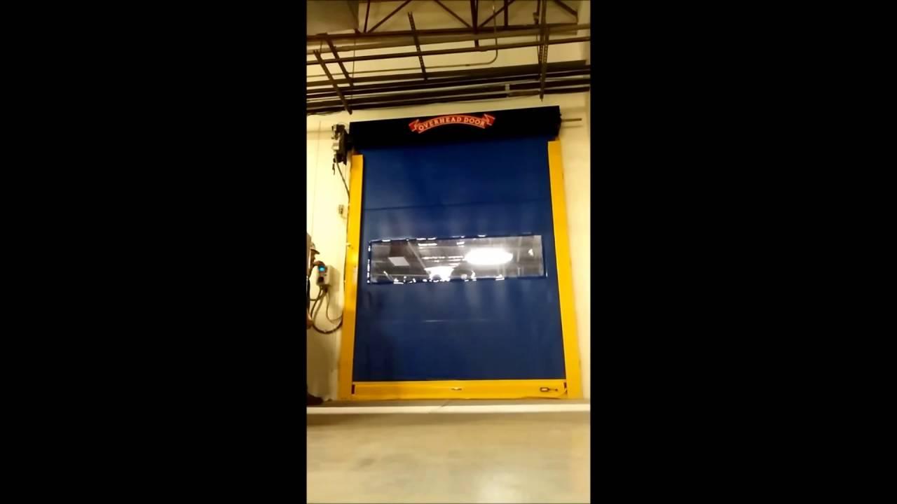 Charmant High Speed Fabric Door Installed By Overhead Door Co. Bellingham, Washington