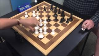 Grandmaster Trash Talker The Great Carlini vs. USCF Life Senior Master Mick Bighamian Game 2