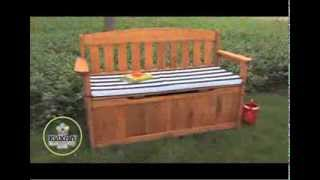 Outdoor Storage Bench 00108