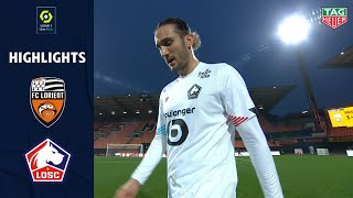 FC LORIENT - LOSC LILLE (1 - 4) - Highlights - (FCL - LOSC) / 2020-2021