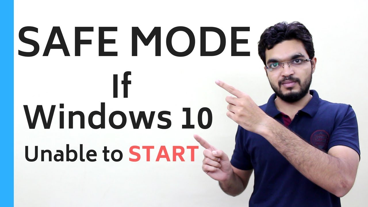 How to Enter SAFE MODE – If Windows 10 Unable to START [in HINDI]