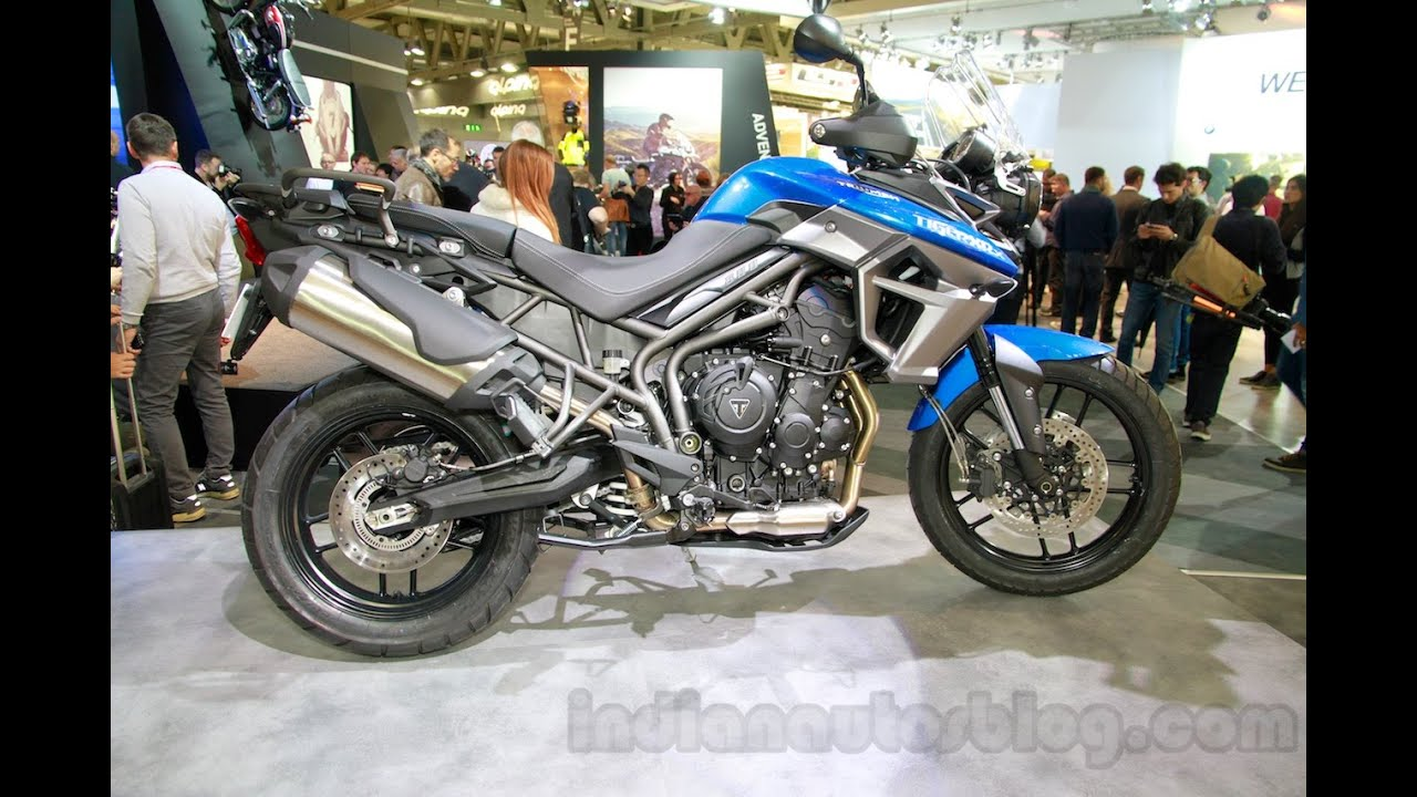 2015 Triumph Tiger 800 XRx - EICMA 2014 - YouTube