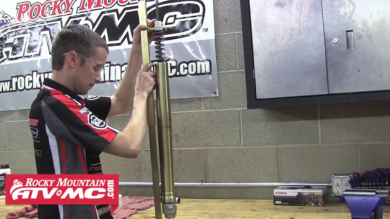 Showa Sff Fork Rebuild & Seal Replacement Part 2 (Right Fork)  Rocky  Mountain Atv Mc 07:57 HD