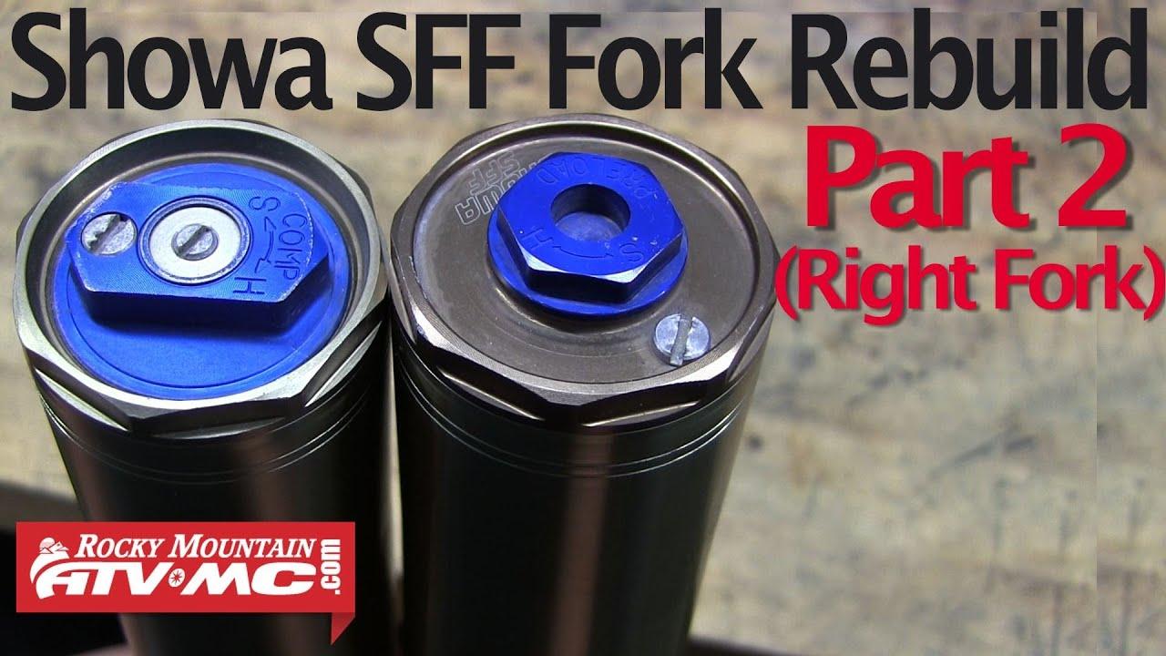 Suzuki Sff Fork Rebuild