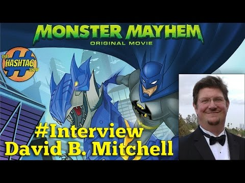 Batman Unlimited: Monster Mayhem -  Full Interview With Dave B. Mitchell, Voice of Clayface
