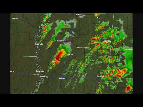 Mississippi Tornado Radar