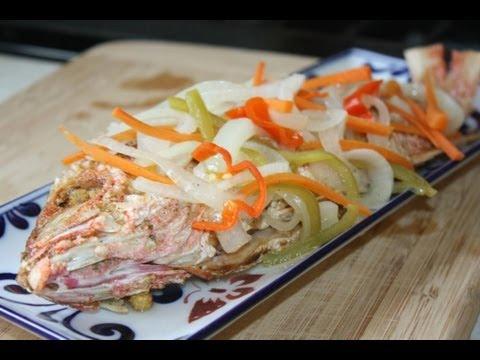 Jamaican Style Escovitch Fish.