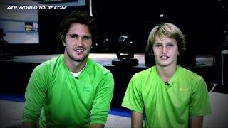 Alexander Zverev Shows Potential At 14
