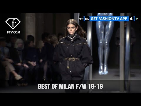Best Of Milan Fashion Week Fall/Winter 2018-19 | FashionTV | FTV