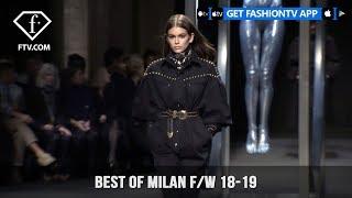 Best Of Milan Fashion Week Fall/Winter 2018-19 | FashionTV | FTV