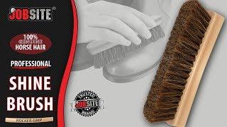 JobSite Professional Shoe Shine Brush