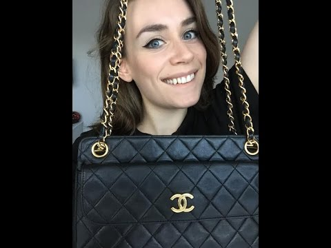 d3bdbf306d35 Handbag REVEAL: (My FIRST) Chanel Bag from Fashionphile! - YouTube