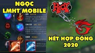 Update LMHT: LOL Mobile rò rỉ Ngọc Tái Tổ Hợp - Riot hết hợp đồng với Garena vào 2020?