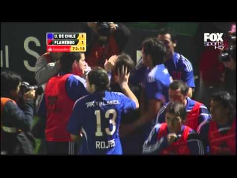Golazo de Walter Montillo - U de Chile vs Flamengo HD Copa Libertadores 2010