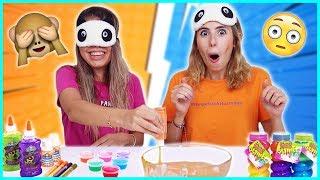 Gambar cover Denk Getirirsen Kazanırsın Slime Challenge Gözü Kapalı Slaym Eğlenceli Çocuk Videosu Dila Kent