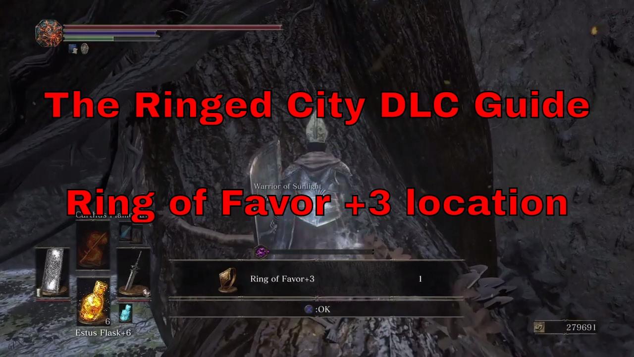 Ring Of Favor  Location Dark Souls