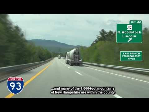 I-93 Northbound Through Franconia Notch, NH