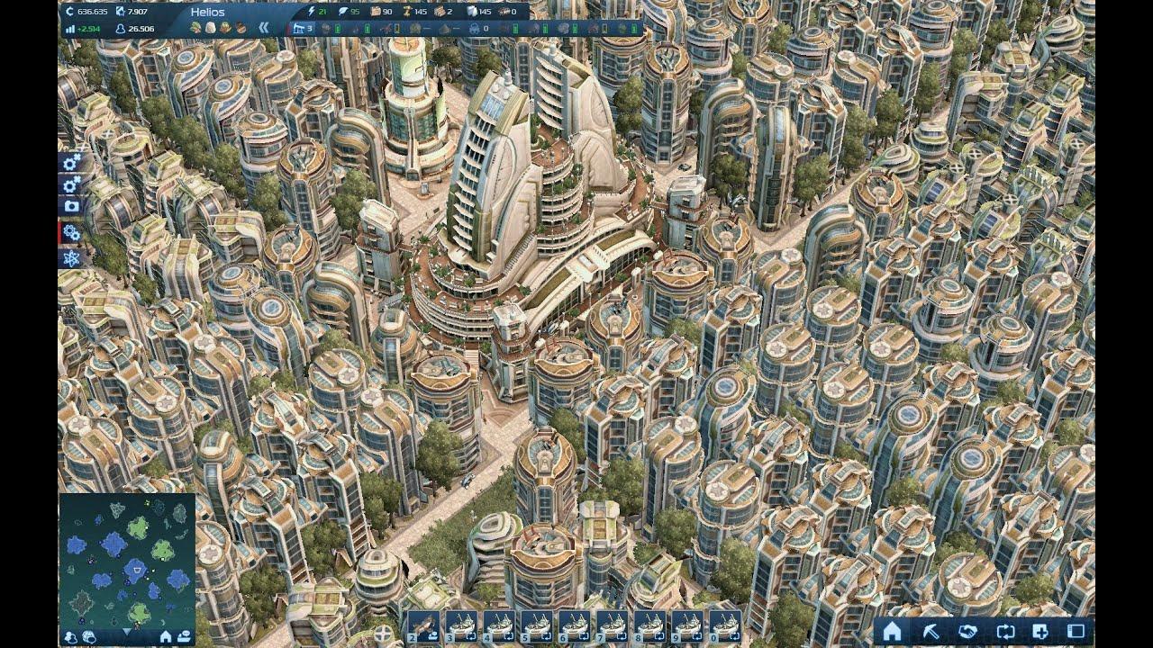 Anno 2070 einwohner residents mega eco 39 s city for Anno 2070 find architect