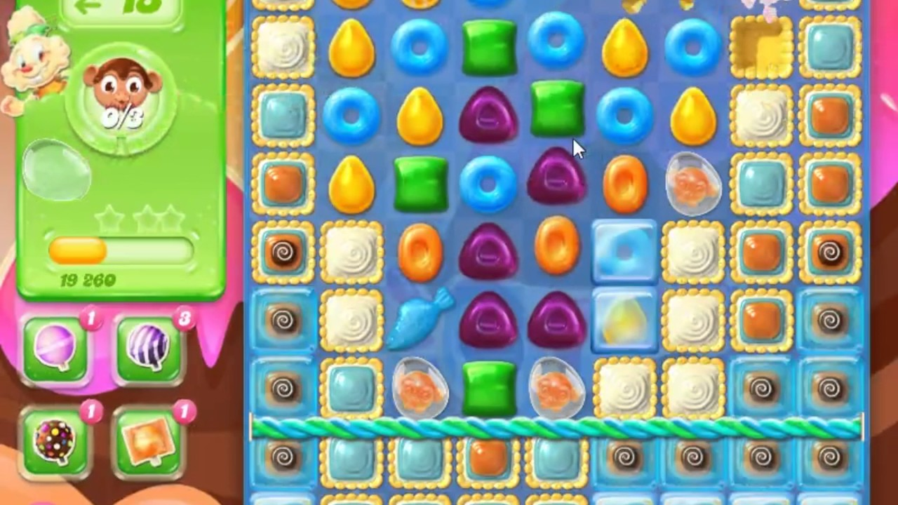 quantas fases tem o candy crush soda
