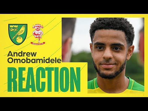Norwich City 1-0 Lincoln City | Andrew Omobamidele Reaction