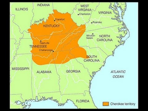 Carolinas Redraw border, How About the Cherokee border??
