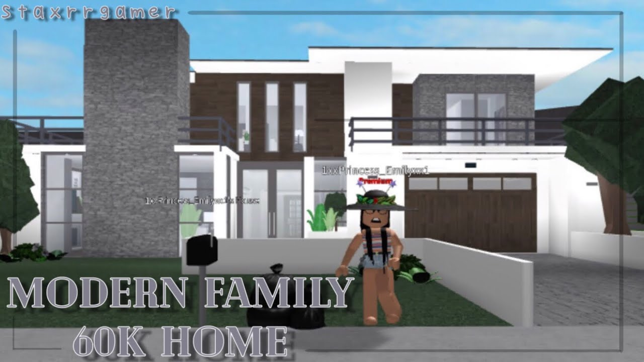 Modern Houses In Roblox Modern Roblox House Bloxburg Roblox Codes For Music Shrek