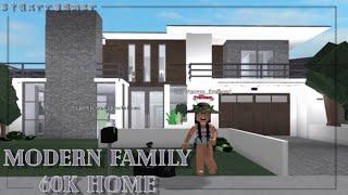 Roblox Bloxburg ~ 60K Modern Family House ツ