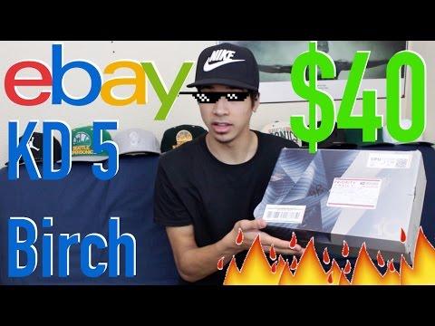 "Unboxing $40 KD5 ""Birch"" From eBay!?!?"