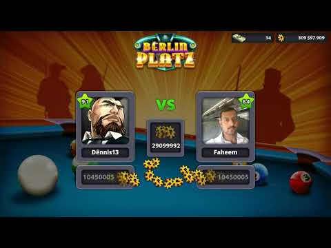 🎱8 Ball pool - Berlin platz #1° partida no canal