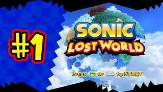 Прохождение Sonic Lost World — часть 1