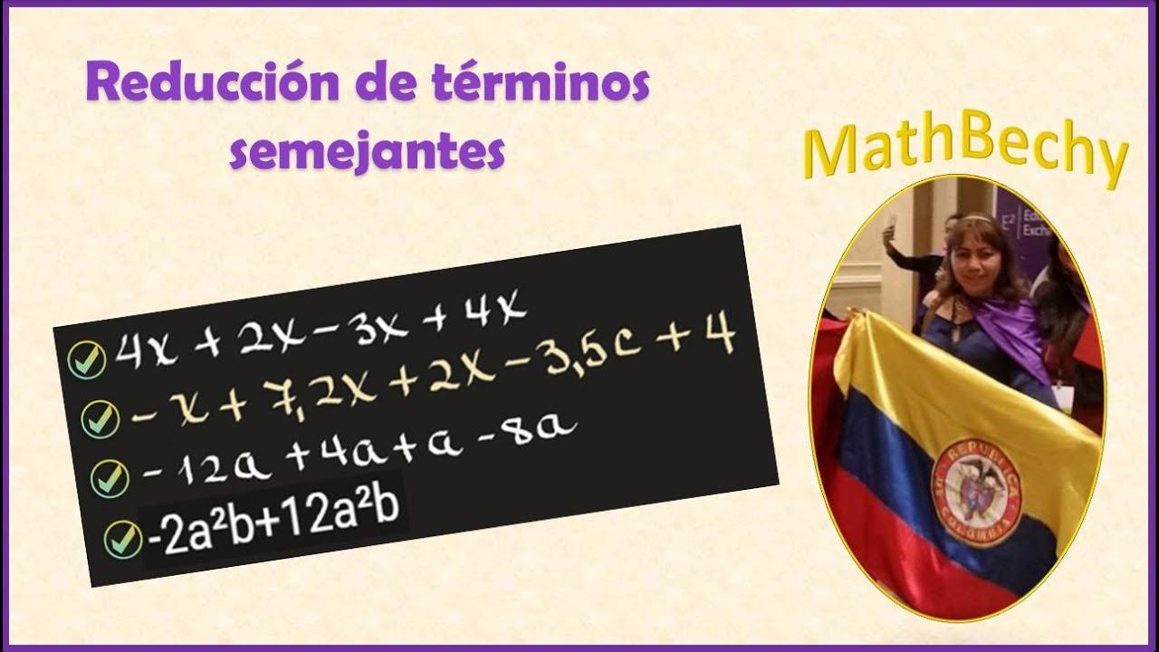 ✨ Reducción de expresiones algebraicas