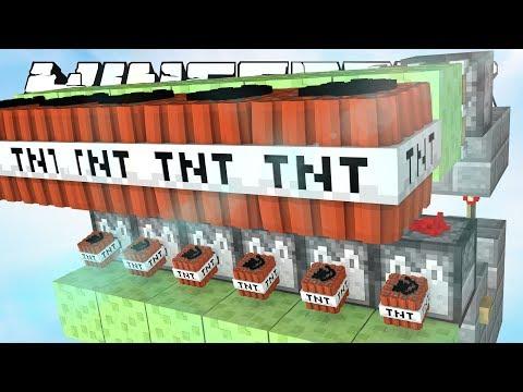 ТНТ ПУШКА НА СЛАЙМАХ В МАЙНКРАФТ! TNT WARS IN MINECRAFT