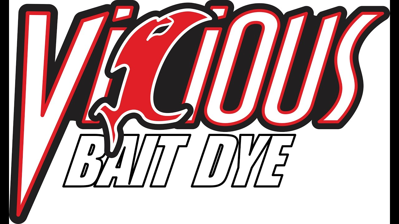 How To Dye Live Bait Fish With Vicious Bait Dye - YouTube