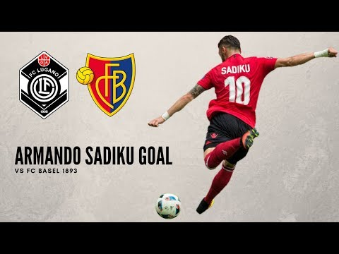 Armando Sadiku amazing goal vs FC Basel 1893 | 07.04.2019 | Super League 2018-19