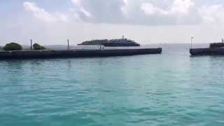 Anastasia Super Yacht off Bandos Island in the Maldives