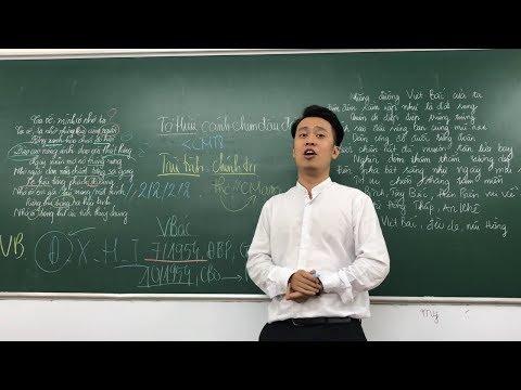 Phân tích 8 câu đầu bài thơ Việt Bắc - thầy Nhật dạy văn