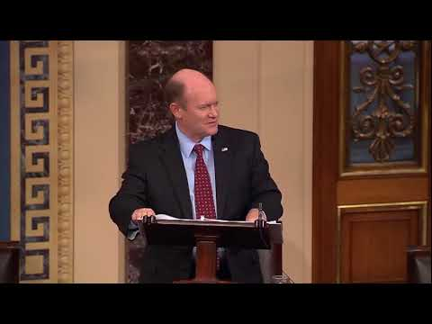 Senator Coons honors Megan O'Neill November 16, 2017