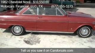 1962 Chevrolet Nova For Sale Coupe for sale in Headquarters