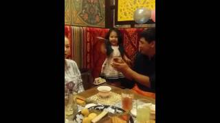 psy daddy 2 years old baby dancing so cute