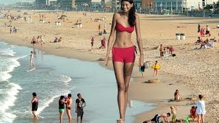 WORLD'S TALLEST WOMAN EVER