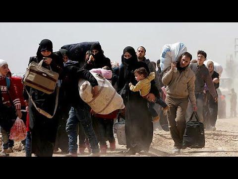 عشرات الالاف من السوريين يفرون من -جحيم الغوطة- خلال الأيام الأخيرة …  - نشر قبل 2 ساعة