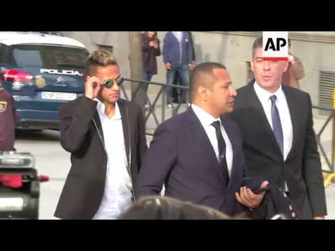 Football star Neymar may face jail over transfer