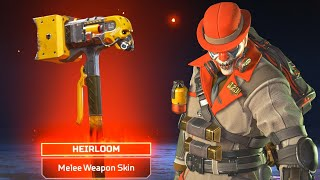 I FINALLY GOT THE SHINY CAUSTIC HEIRLOOM BOIS in Apex Legends