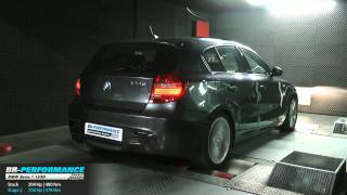 Reprogrammation moteur BMW Serie 1 123D 204hp @ 258hp (stage 2) par BR-Performance