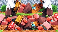 Villager vs Pillager Life 12 [COVID-19] - Minecraft Animation