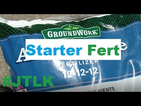 Lawn Starter Fert FAQ + Tree Removal