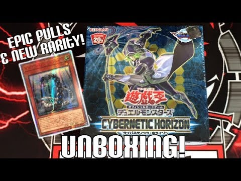 EPIC PULLS + NEW RARITY! Yugioh Cybernetic Horizon Unboxing | New Cyber Dragons & Dragunity