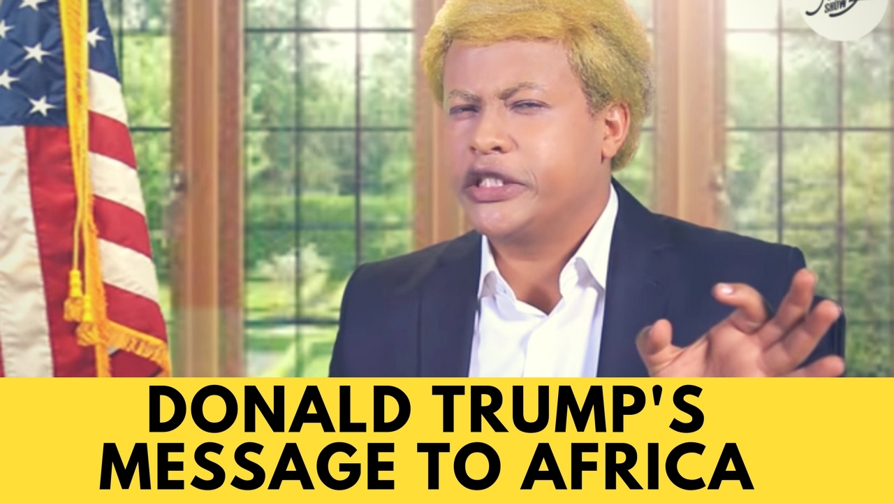 Donald Trump's Message to Africa!